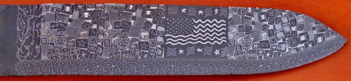 Doug Ponzio Mosaic Pattern Damascus
